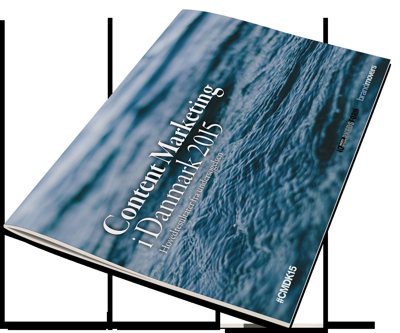 Forside til Content Marketing i Danmark 2015