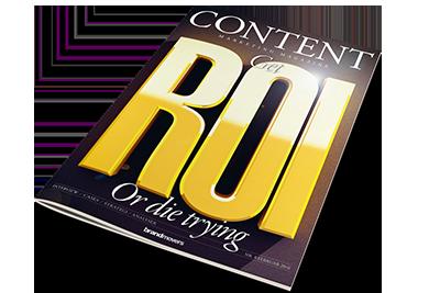 Cover af Content Marketing Magazine 8