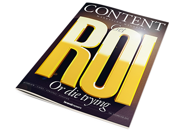 Cover af Content Marketing Magazine 8