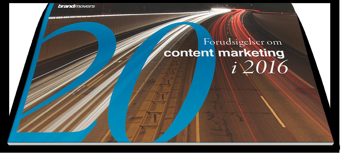 Download 20 forudsigelser om content marketing i 2016