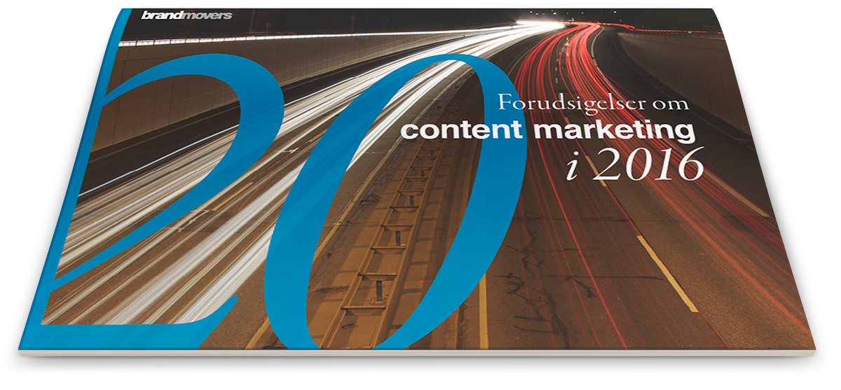 Download 20 forudsigelser om content marketing i 2016